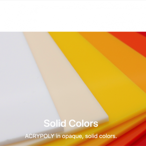 Acrylic Plastic Sheets and Accessories