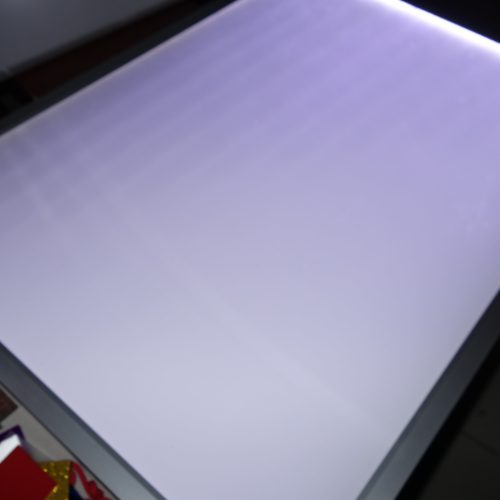 Acrylics used for Lightings